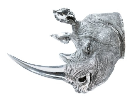 Rudie Rhino Head Wall Hanging