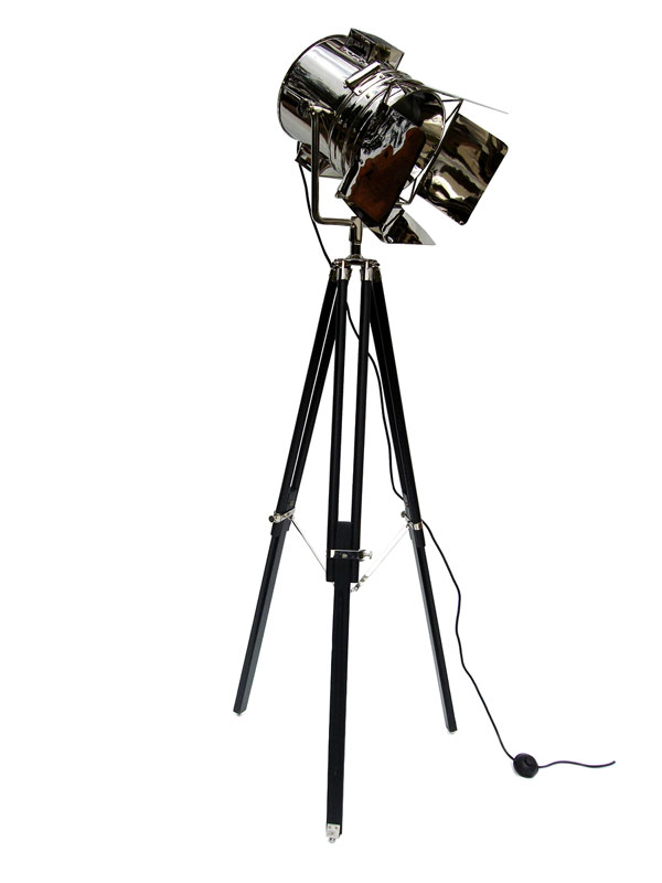 The Mali Tripod Studio Light Floor Lamp