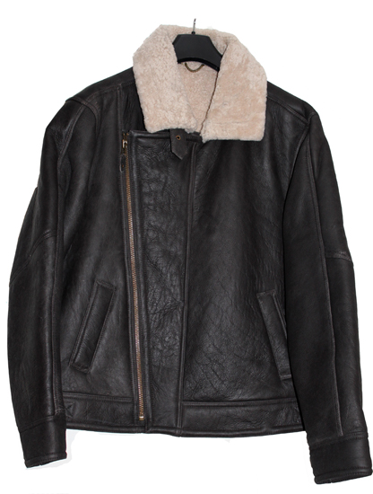 Aviator Flying Sheepskin Jacket - Click Image to Close