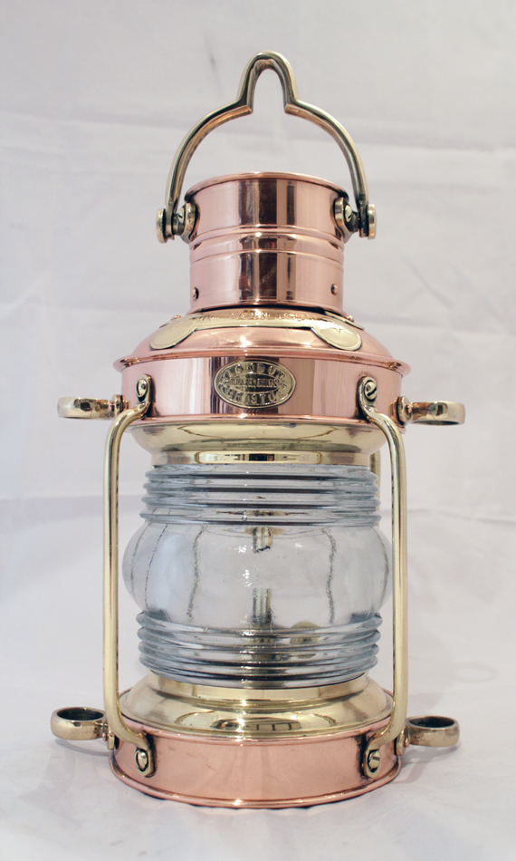 Clark Bro Copper & Brass Lantern