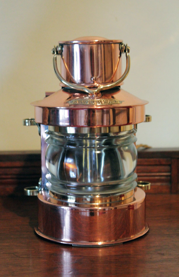 Copper & Brass Masthead Lamp