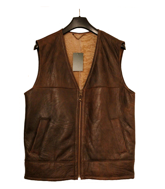 Giles Sheepskin Gilet Body warmer