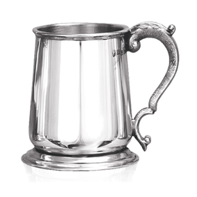 George III Heavy Weight Pewter Tankard