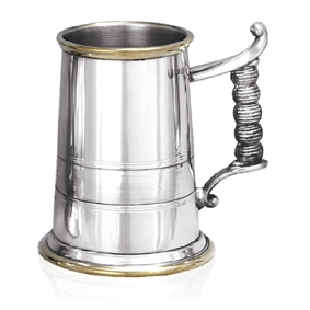 Rodney Heavy Weight Pewter Tankard