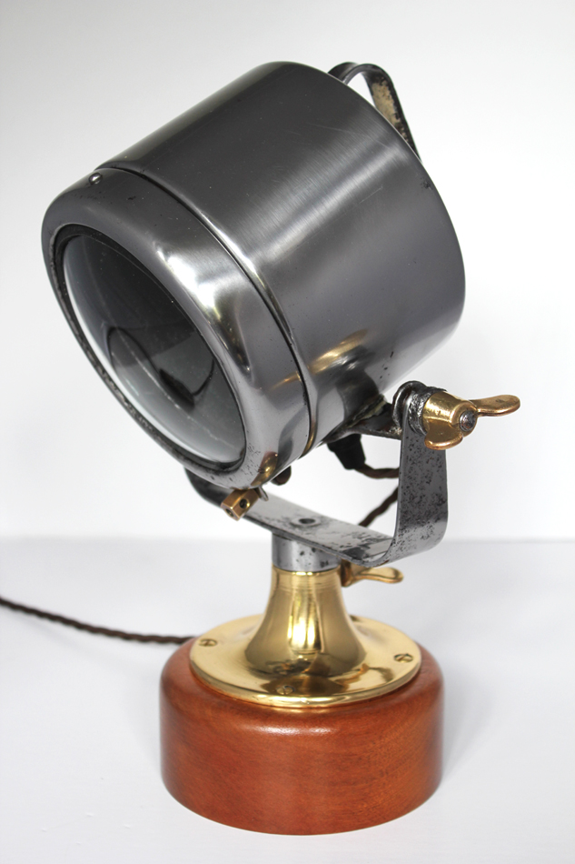 "Vintage 5"" searchlight"