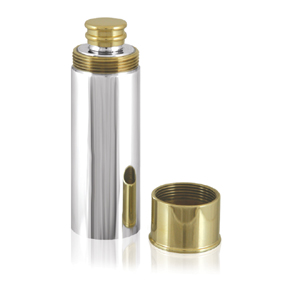 4oz Shotgun Cartridge Hip Flask