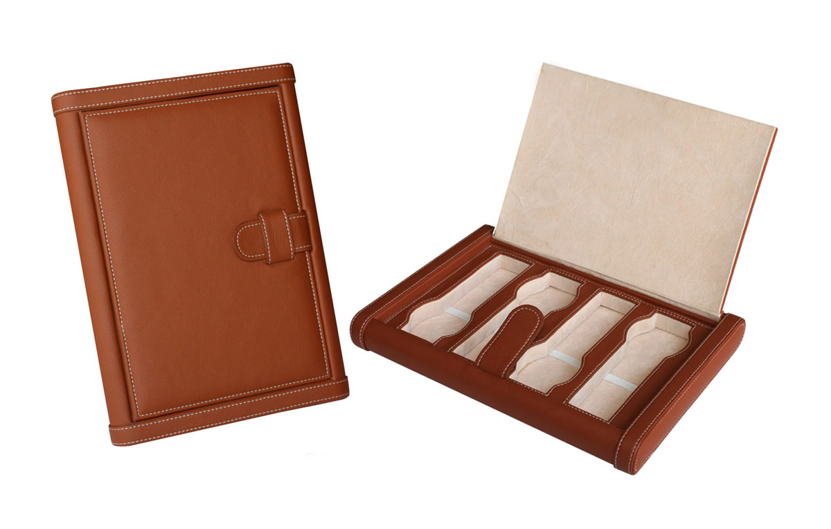 4 Watch Traveller Storage Case