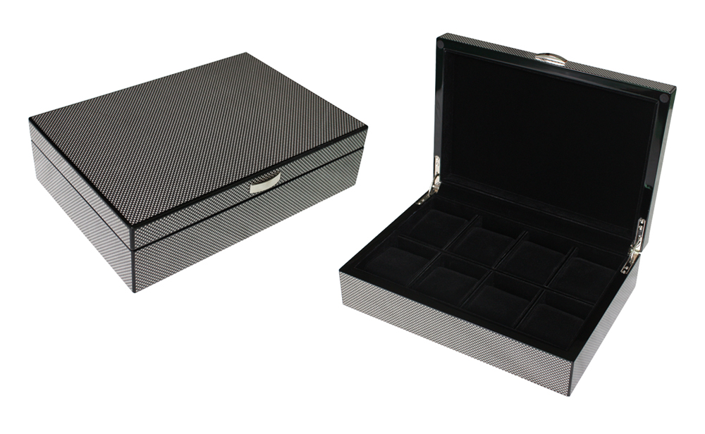 8 Watch Storage Case Carbon Fibre