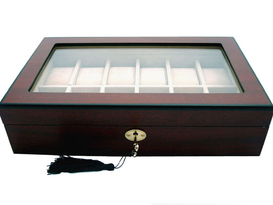 12 Watch Storage Display Case