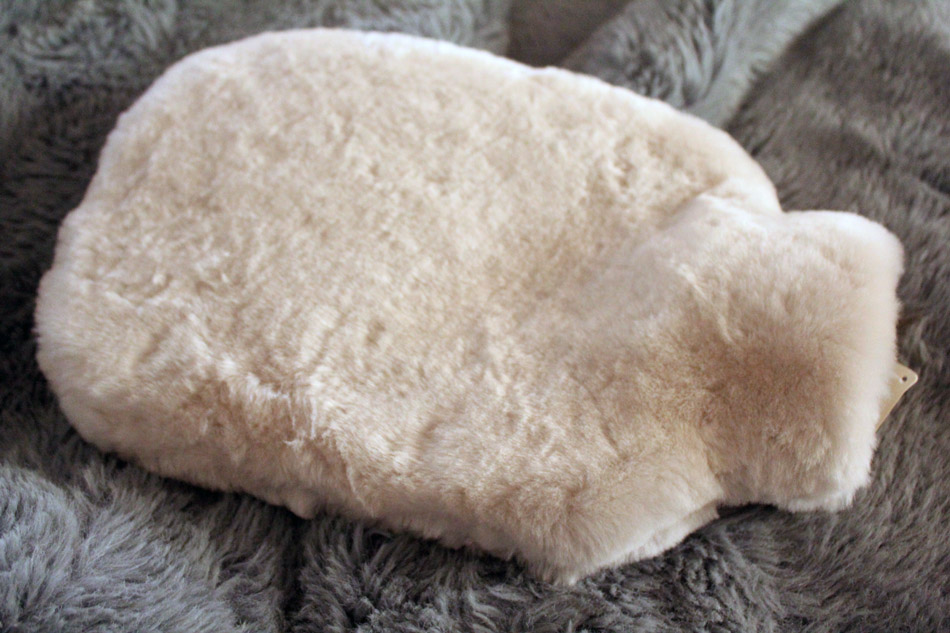 Large Sheepskin Hot Water Bottle