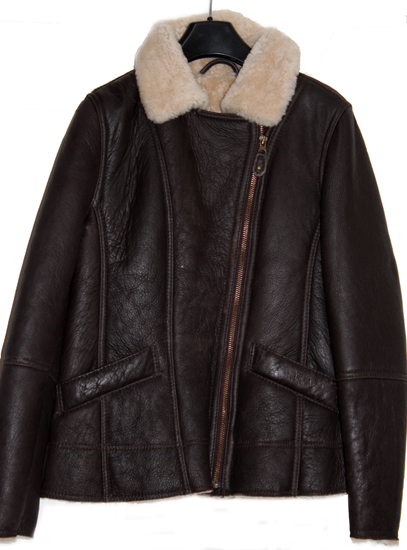 Ladies Mepal Aviator Sheepskin Jacket