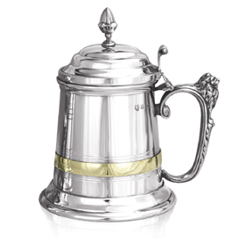 Churchill Extra Heavy Gauge Pewter Tankard