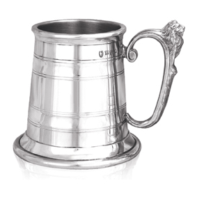 Montomery Extra Heavy Weight Pewter Tankard
