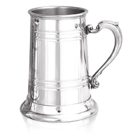 Chamberlain Extra Heavy Weight Pewter Tankard