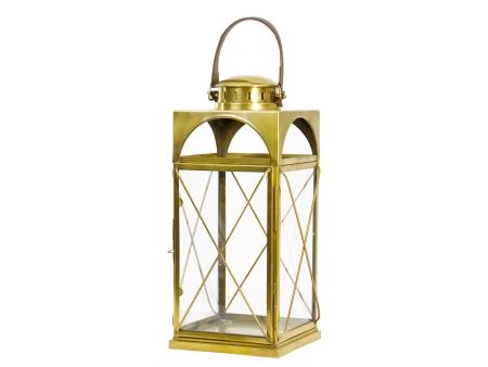 Antique Brass Lantern Medium