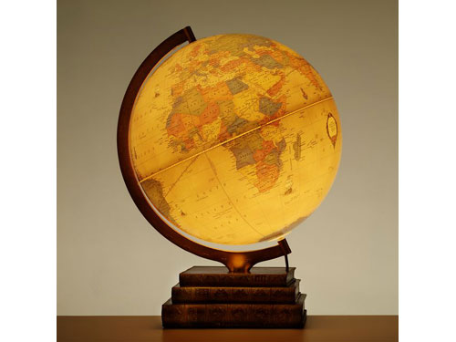 Globe - The Bookcase Illuminated