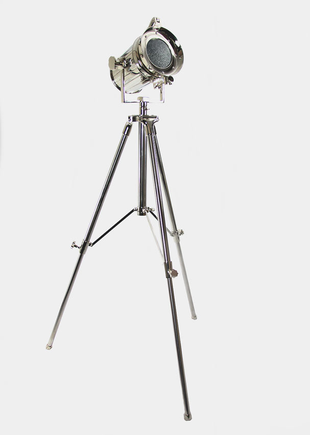 The Bryce Movie Tripod Stoplight Floor Lamp